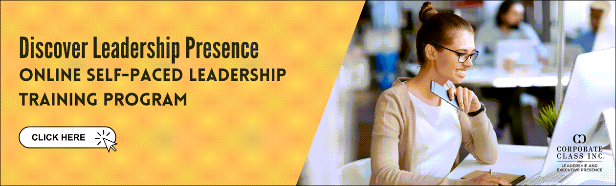 leadership presence training program